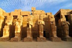 Complexe de temple de Karnak à Louxor Photographie stock libre de droits