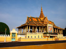 Complexe 3 de temple de Phnom Penh image stock