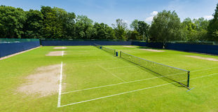 Complexe de tennis Photo stock