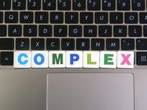 Complexe de Word sur le fond de clavier Photographie stock libre de droits