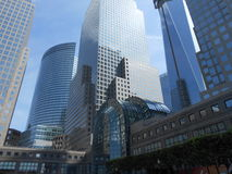 Complexe de World Trade Center à Manhattan du centre Images libres de droits
