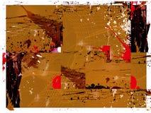 Complexe grungeachtergrond Royalty-vrije Stock Afbeelding