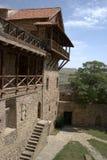 Complexe het klooster van David Gareja Stock Foto's