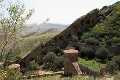 Complexe het klooster van David Gareja Royalty-vrije Stock Fotografie
