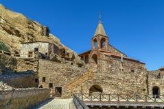 Complexe het klooster van David Gareja, Georgië royalty-vrije stock fotografie