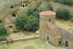 Complexe het klooster van David Gareja, Georgië Stock Afbeeldingen