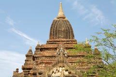 Complexe monastique de Byu Shin de péché, Bagan, Myanmar Images libres de droits