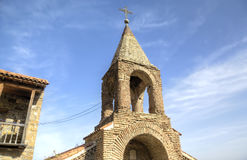 Complexe orthodoxe géorgien David Gareja de monastère photographie stock