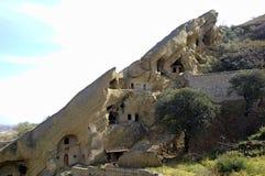 Complexe orthodoxe géorgien David Gareja de monastère photos libres de droits