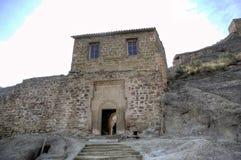 Complexe orthodoxe géorgien David Gareja de monastère photo libre de droits