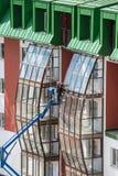 Complexe résidentiel de pays Images libres de droits