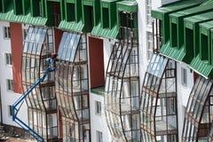 Complexe résidentiel de pays Photo stock