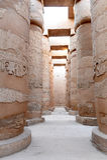 Complexe tempel Gr-Karnak Stock Afbeelding
