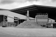 Complexen en grintstenen stock foto