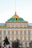 Complexo arquitectónico de Kremlin Fotografia de Stock