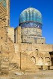 Complexo arquitetónico muçulmano antigo, Usbequistão Imagem de Stock