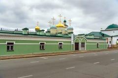 Complexo da catedral de Nikolsky kazan Rússia Foto de Stock