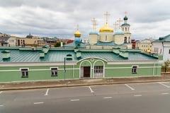 Complexo da catedral de Nikolsky kazan Rússia Imagem de Stock Royalty Free
