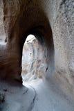 Complexo da caverna do monastério de Selime Fotografia de Stock