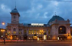 Complexo da estação de trem de Vitebsk em St Petersburg Fotografia de Stock Royalty Free