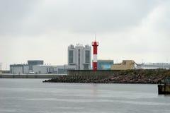 Complexo da proteção de inundação de St Petersburg Fotos de Stock Royalty Free