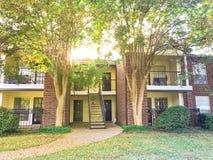 Complexo de apartamentos típico em Dallas Fort Worth suburbano, Texas mim fotos de stock royalty free