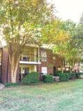 Complexo de apartamentos típico em Dallas Fort Worth suburbano, Texas mim fotos de stock