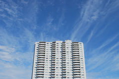 Complexo de edifício do apartamento Imagem de Stock