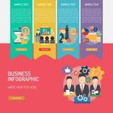 Complexo de Infographic do negócio ilustração royalty free