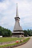 Complexo de madeira ortodoxo do monastério de Barsana Imagem de Stock