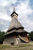 Complexo de madeira ortodoxo do monastério de Sapanta Imagens de Stock Royalty Free