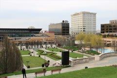 Complexo de Palas em Iasi Romênia Hotel, construções Fotos de Stock Royalty Free