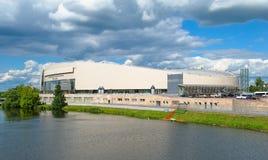 Complexo de patinagem da região Kolomna de Moscou fotografia de stock