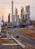 Complexo de refinaria 2 Foto de Stock