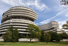 Complexo de Watergate, Washington DC Fotografia de Stock