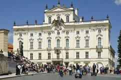 Complexo do castelo de Praga, Praga, República Checa fotografia de stock royalty free