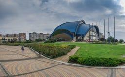 Complexo do esporte de Olympus na cidade de Yuzhny, Ucrânia foto de stock royalty free