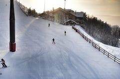 Complexo do esqui Imagem de Stock