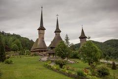 Complexo do monastério de Barsana foto de stock royalty free