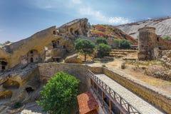 Complexo do monastério de David Gareja (Kakheti, Geórgia) Imagens de Stock Royalty Free