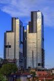 Complexo do negócio de Torun Center em Mecidiyekoy, Istambul Foto de Stock Royalty Free