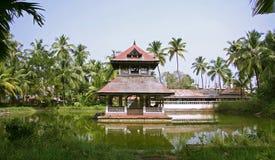 Complexo do templo em kochi fotografia de stock