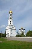 Complexo do templo na vila Zavidovo Imagens de Stock