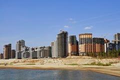 Complexo dos edifícios novos de Kazan imagens de stock royalty free