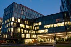 Complexo dos prédios de escritórios Fotografia de Stock