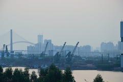 Complexo industrial Foto de Stock