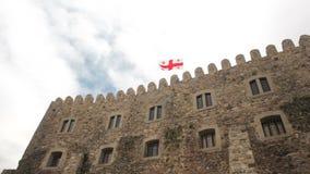 Complexo medieval do castelo do castelo de Jakeli em Akhaltsikhe, castelo de Rabati, Geórgia Castelo de Lomisa vídeos de arquivo