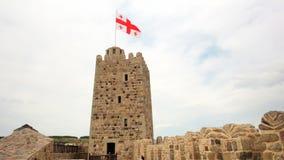 Complexo medieval do castelo do castelo de Jakeli em Akhaltsikhe, castelo de Rabati, Geórgia Castelo de Lomisa filme