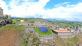 Complexo medieval do castelo do castelo de Jakeli em Akhaltsikhe, castelo de Rabati, Ge?rgia Castelo de Lomisa vídeos de arquivo