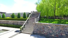 Complexo medieval do castelo do castelo de Jakeli em Akhaltsikhe, castelo de Rabati, Ge?rgia Castelo de Lomisa filme